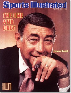 Howard Cosell  August 8, 1983 X 28760 credit:  Arnold Newman - assign